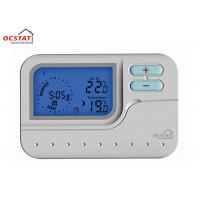 Quality LED Blue Backlight 	7 Day Programmable Thermostat With HVAC System for sale