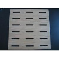 China Fireproof Perforated MDF Acoustic Panel For Decorative Interior Wall BT new patter on sale