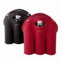 Buy cheap 3 Pack Neoprene Wine Cooler Bag(BC-007) product