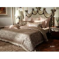 Quality Classical Natural Mulberry Silk Luxury Bed Sets Grey With Good Texture for sale