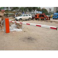 Buy cheap High Speed Rfid Card Traffic Barrier Gates , OEM Control Road Safety Folding Arm product
