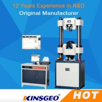 Buy cheap Computer Rubber Universal Strength Testing Machine 1000KN With Servo Motor / PC Display product