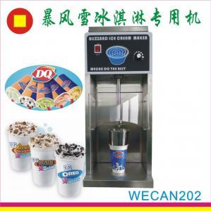 China heavy duty ice cream blizzard machine for sale on sale