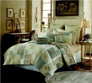 China Duvet Reactive Printed Quilt Bedding Set , Queen Size Comforter Set on sale