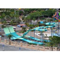 Quality 9 - 18M Platform Height Water Park Slide Four Person Round Rafts for sale