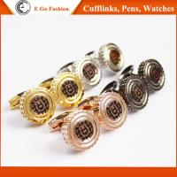 Rose Gold Black Silver Golden Cuff Links for Man Top Brand Aigner Copy Cufflinks for Man