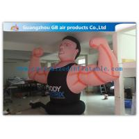 China Air Man Inflatable Muscle Man Model Advertising Strong For Party , Club on sale