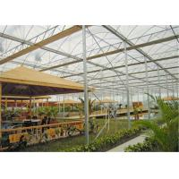 Quality Steady Structure Double Wall Greenhouse , Polycarbonate Greenhouse High Corrosion Resistance for sale