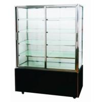 China Commercial Mini Cake Display Freezer Full Brass Refrigeration System on sale