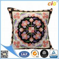 Quality Faux Fur / Polyester Multi Color Square Decorative Throw Pillow Covers for Couch / Bed / Sofa for sale