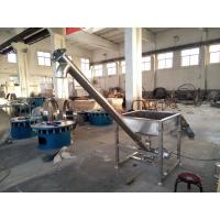 Buy cheap 304 Stainless steel Stainless steel auger screw conveyor for grains , wheat from wholesalers
