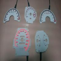 China high bright custom glow gauge\el gauge\car dashboard on sale