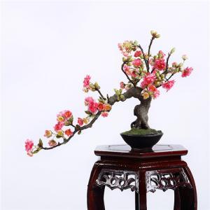 China Artificial Cherry Blossom Bonsai on sale