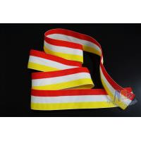 Quality Fashional Design Custom Award Ribbons , Medal Neck Red/White/Yellow Ribbons for sale