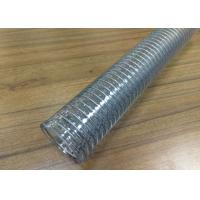 China Food Grade Flexible Hose , Transparent Reinforced Hose For Conveying Milk Beer Water on sale