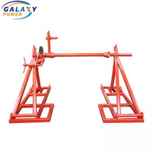 China Lifting 4 Ton Mechanical Cable Drum Jack on sale