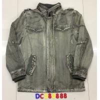 China DC888888 Men's cotton with jean washing jacket coat on sale