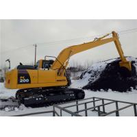China Unloading Coal Long Reach Excavator Booms 18 Meter For Komatsu Excavator PC200 on sale