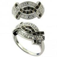 China Custom Charming 925 Silver Engagement And Wedding Ring Sets With Cz Stones Micro Paved on sale