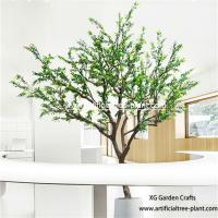 Berry Plant Pepper Artificial Evergreen Trees / Zanthoxylum Bungeanum Tree Hotel for sale