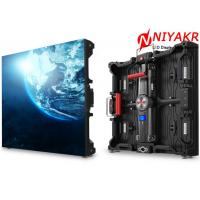 P6 Outdoor LED Backdrop Screen Rental LED Screen Full Color For Video Advertising