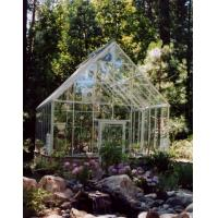 Quality 2012 elegant tempered glass greenhouse HX91104G for sale