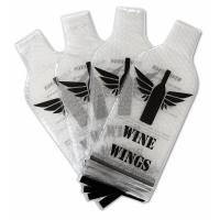 Quality NEW PVC Plastic Protective Wine Bubble Skin Bag for Wine Bottle Protector. transprent PVC Material for sale