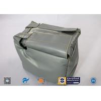 China Thermal Insulation Covers Removable Reusable For Valves Heat Resistant Fiber Glass on sale