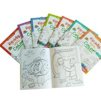 China Children Coloring Book Personalised Stationery Gifts A4 / A5 Size Matt Lamination on sale