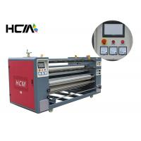 Quality Heat press printing equipment / roller heat press machine for cut - piece roll to roll fabric for sale