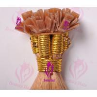 Buy cheap 100% Remy Hair Flat Tip Hair Extension from wholesalers