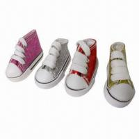 China Deck Shoe Magnet, Made of PVC on sale