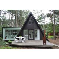 Quality Prefab House Kits , Modern Light Steel Frame Bungalow,Holiday resort triangle house, mobile house,wooden house for sale