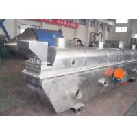 Quality Horizontal Industrial Fluid Bed Dryers SUS 304 High Thermal Efficiency Energy Saving for sale