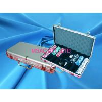 Quality Professional Aluminum Chip Case Easy Carry Poker Chip Box For Carry Chippers for sale