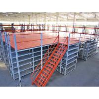Customized Cold Rolled Structural Rack Supported Mezzanine For Logistics