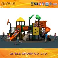 Buy cheap Imported LLDPE Plastic Playground Outdoor Playground used playground equipment product