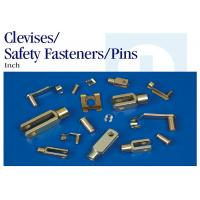 Quality Zinc Plated Stainless Steel Clevis Pin Safety Fasteners For Lawn / Garden for sale