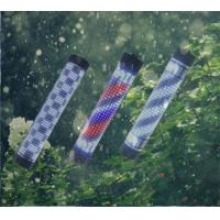 Buy cheap Outdoor Waterproof LED Barber Pole RF Remote Red White Blue Color Stripes Rotating from wholesalers