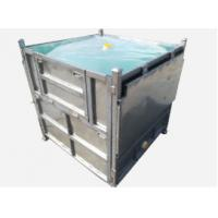Quality Steel IBC Intermediate Bulk Container Foldable IBC Container 1000L Capacity for sale