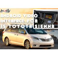 Quality Original Car Screen Installation Android Auto Interface For TOYOTA Sienna 2015 for sale