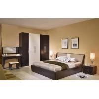 Buy cheap MDF Structure Rustic Wood Frame Bed For Mens 1700 * 2180 * 870MM Size product