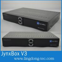 China North America Jynxbox Ultra V3 HD FTA Receiver with JB200 and Wifi satellite receiver on sale