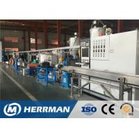 Quality Optical Fiber Cable Sheathing Line For Armoured Cable Core Inner / Outer Sheathing for sale