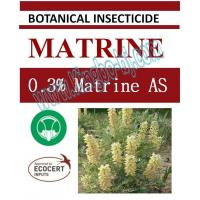 Quality 0.3% Matrine AS, biopesticide, organic insecticide, botanic, natural for sale