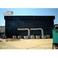 Buy cheap Black Cube Double Decker Outdoor Event Tents , Wind Loading 100km / hour from wholesalers