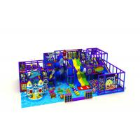 China Big Size Indoor Amusement Park Equipment With Ball Pool Space Style KP190313 on sale