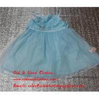 Quality Girls Silk Skirt Used Kids Clothes Second Hand Girls Clothes In Africa for sale
