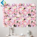 Wedding Use Artificial Vertical Garden , Indoor Stereoscopic Silk Flower Wall for sale