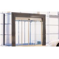 Quality Brown Door Frame Commercial Automatic Sliding Doors With Maintenance Free Motor for sale